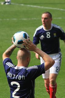 Alan Hutton & Scott Brown - Scotland