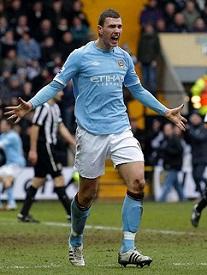 Edin Dzeko - Manchester City