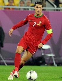 Cristiano Ronaldo at Euro 2012