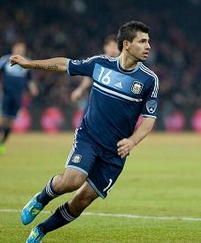 Sergio Aguero - Argentina